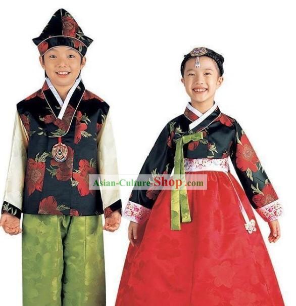 sc 1 st  Asian-Culture-Shop.com & Traditional Korean Costume 2 Sets for Kids