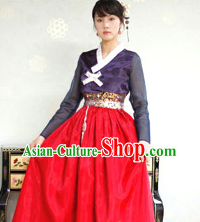 644d641578e Korean Traditional Clothing Plus Size Clothing Fashion Clothes Complete Set  for Teenagers